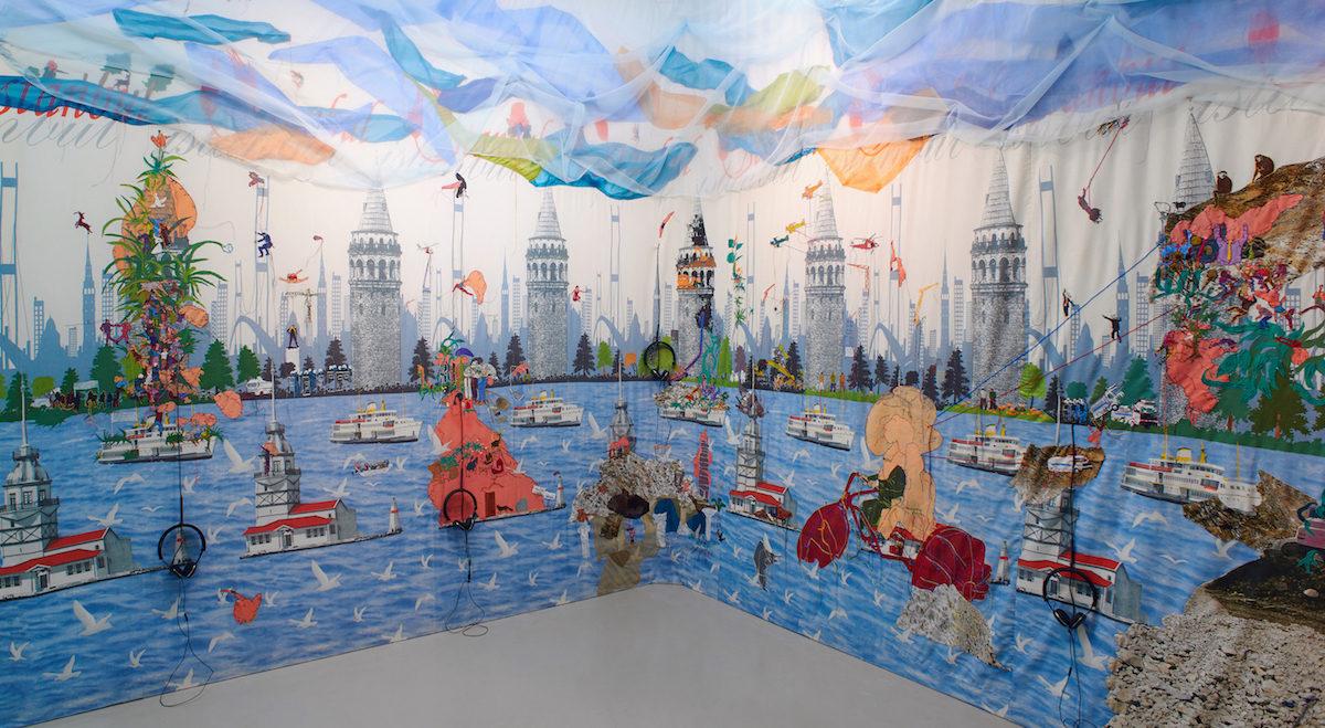 Gözde Ilkin Bogaz Turu, Bosporus Tour, 2013-2018, Art Sumer Gallery, Istanbul