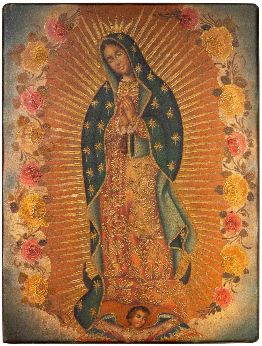 Die Jungfrau von Guadalupe, Los Angeles, 2008. Weltmuseum Wien. c KHM-Museumsverband