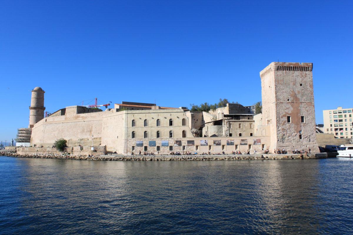 Marseille. Fort Saint-Jean, Foto Christophe Finot, wikimedia