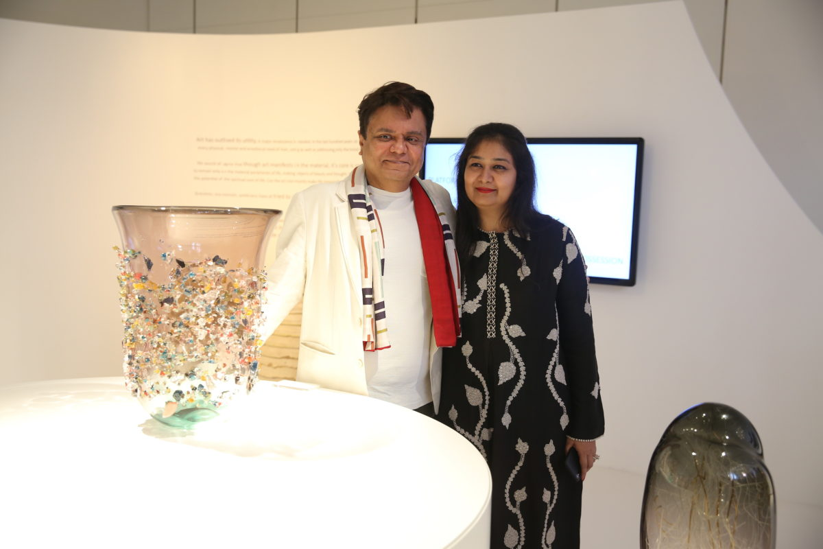 Pinakin Patel und Richa Agarwalm, Kolkata Centre for Creativity, Indien