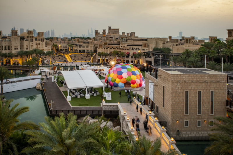 Solaroca by Opavivara, Art Dubai Commissions 2019. Courtesy Photo Solutions