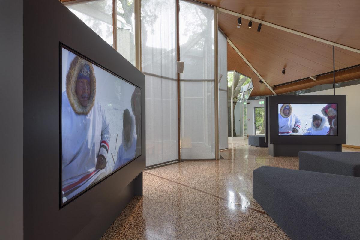 Isuma, 2019. Installation view at the Canada Pavilion for the 58th International Art Exhibition - la Biennale di Venezia, May 2019. Foto Francesco Barasciutti