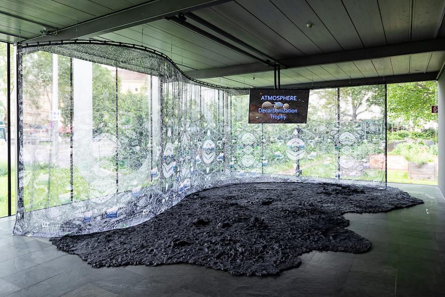 Jorit Aust: Katrin Hornek, Casting Haze, 2018–2030, Courtesy die Künstlerin