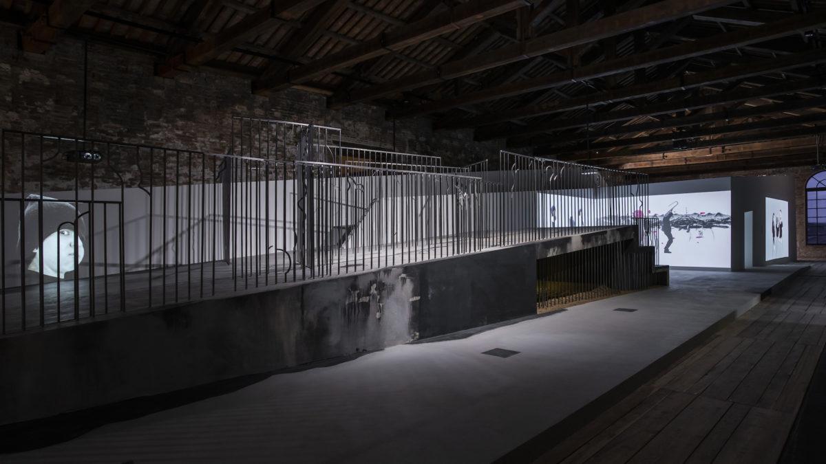Inci Eviner, Pavilion of Turkey installation view. Photo by Poyraz Tütüncü, 2019
