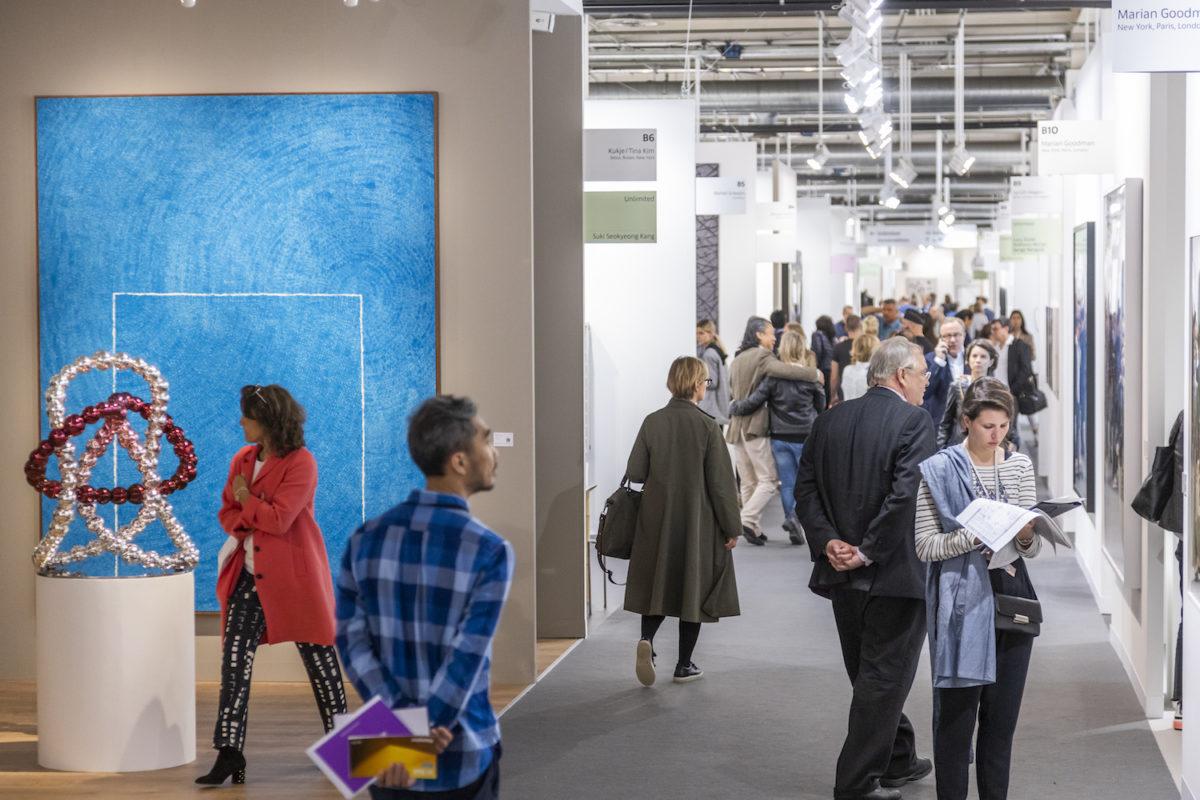 Kim Whanky at Kukje Gallery (Seoul). Courtesy Art Basel 2019