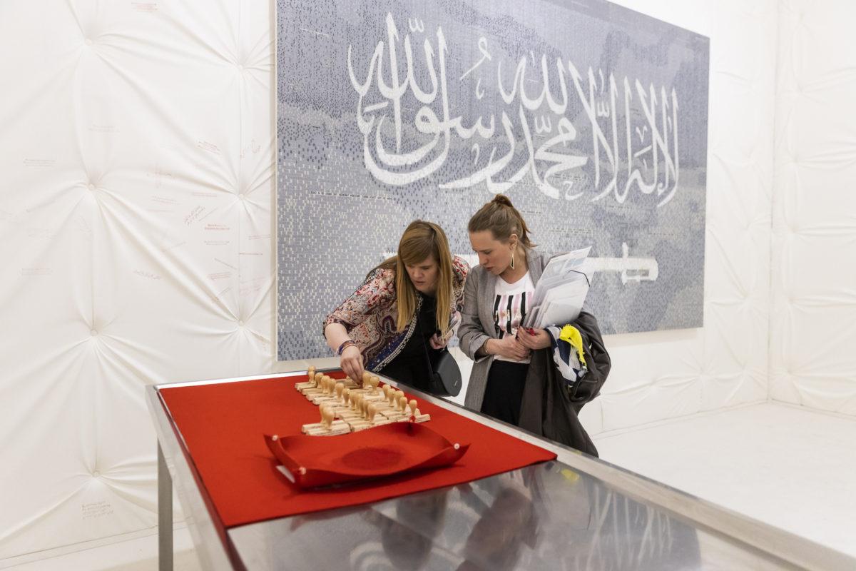 Abdullnasser Gharem, The Safe, Galerie Brigitte Schenk in Kooperation mit Nagel Draxler, Art Basel 2019