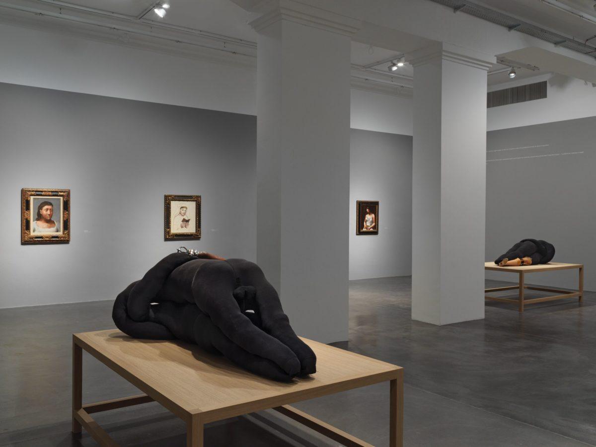 Installationsansicht Anatomies of Desire, Pablo Picasso und Louise Bourgeois, Galerie Hauser & Wirth 2019. Courtesy The Easton Foundation / Succession Picasso / 2019, Pro Litteris und Hauser & Wirth