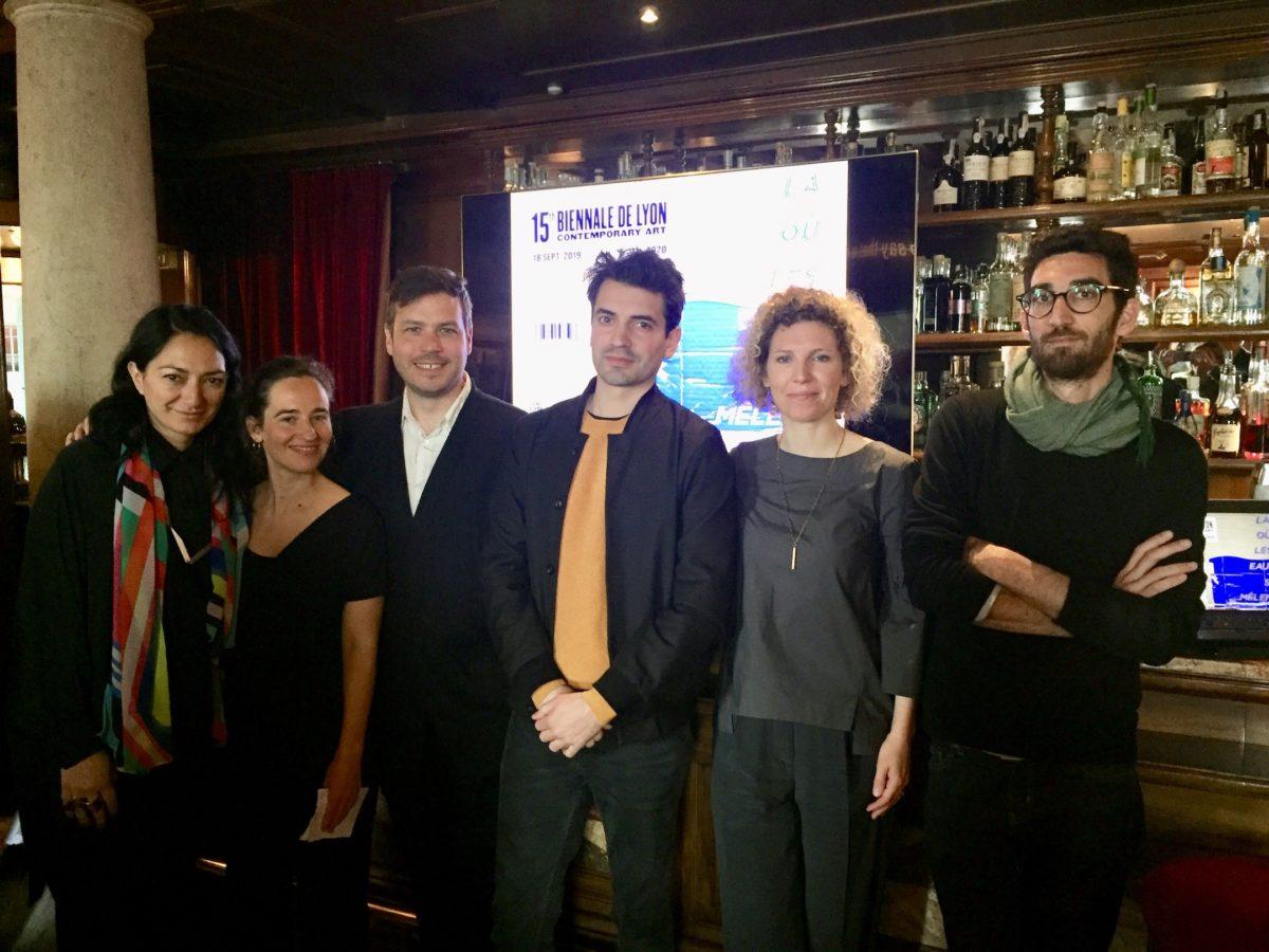 Kuratoren-Team der Lyon Biennale 2019
