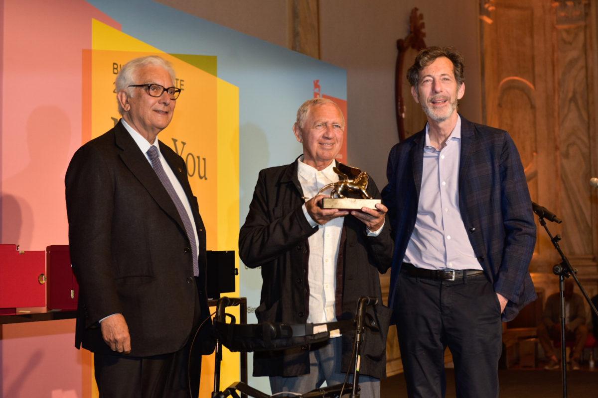 Goldene Löwen - Preisverleihung an Jimmie Durham, 58. Biennale Venedig 2019