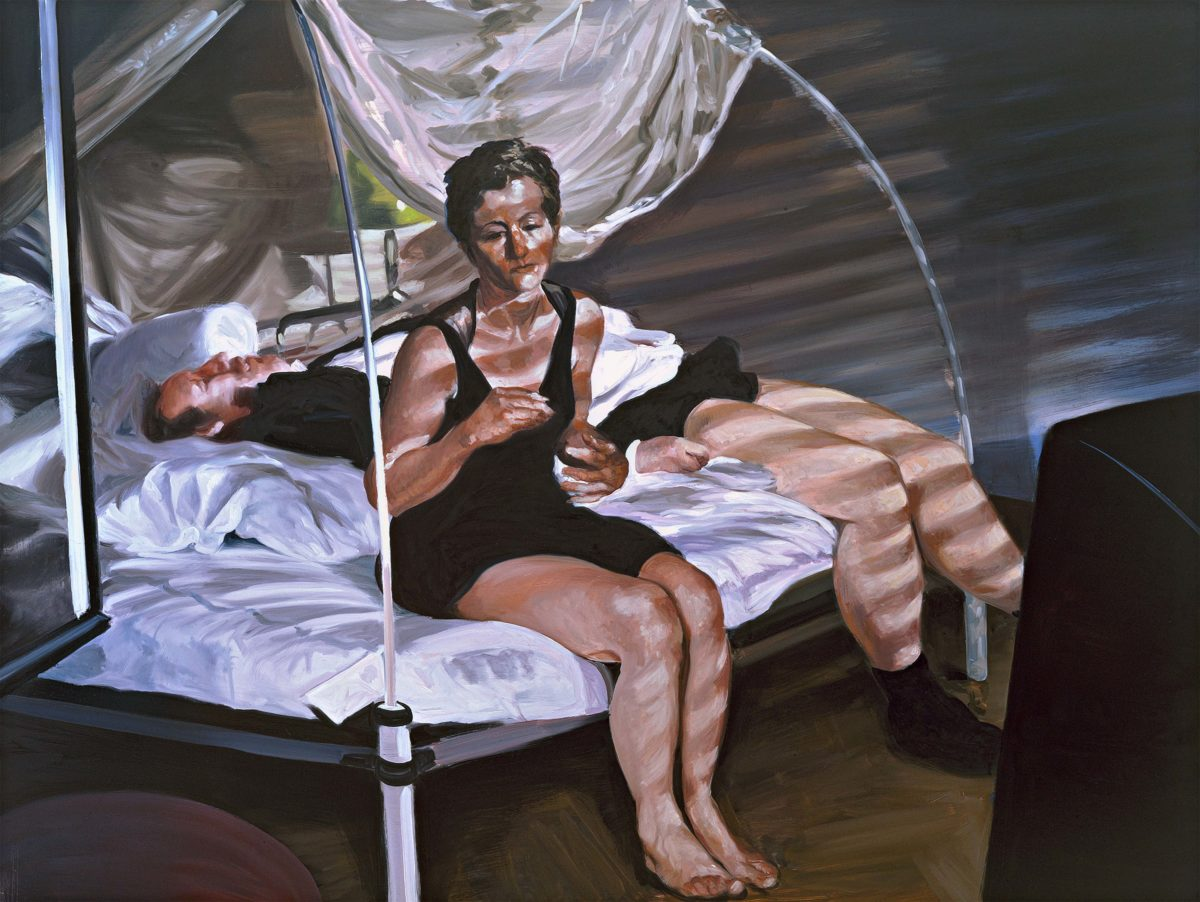 Eric Fischl, The Krefeld Project: The Bedroom. Scene, 2002. Albertina, Wien. Sammlung Jablonka