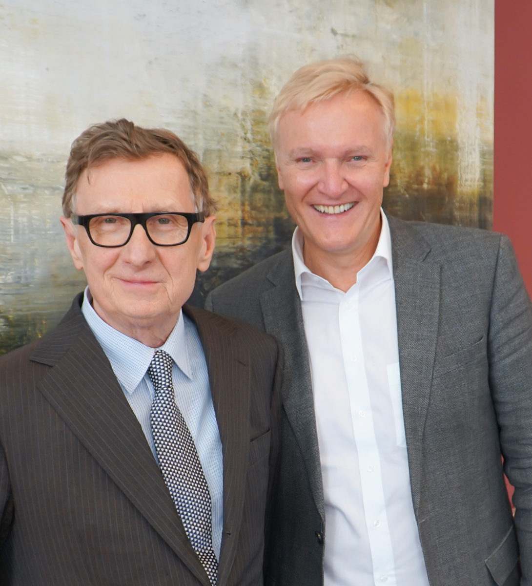 Rafael Jablonka, Klaus Albrecht Schröder, Foto Albertina, 2019