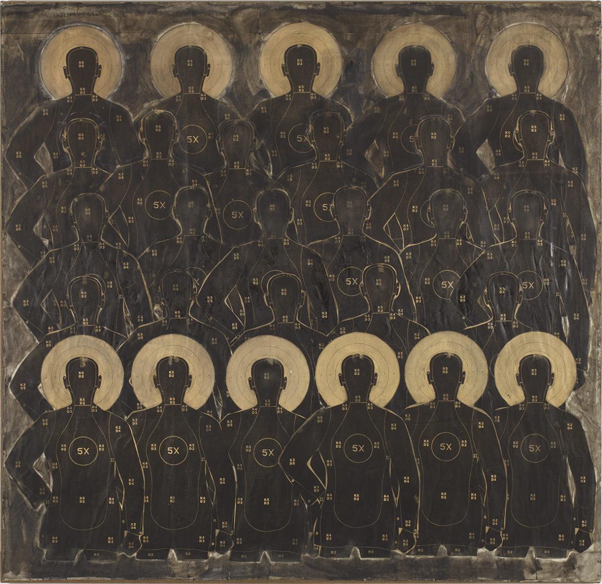 Philip Taaffe, Martyr Group, 1083. Albertina Sammlung Jablonka