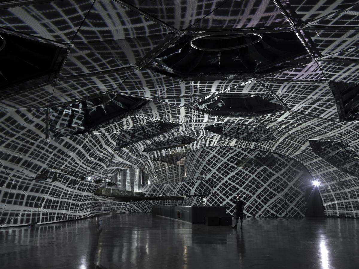 Peter Kogler, Connected. Kunsthaus Graz 2019, Foto: Universalmuseum Joanneum/N. Lackner
