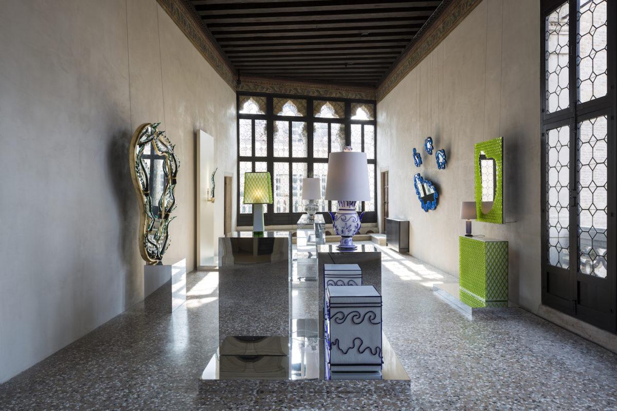 David Gill Gallery mit Mattia Bonetti, NOMAD Venice 2019. Foto Filippo Bamberghi