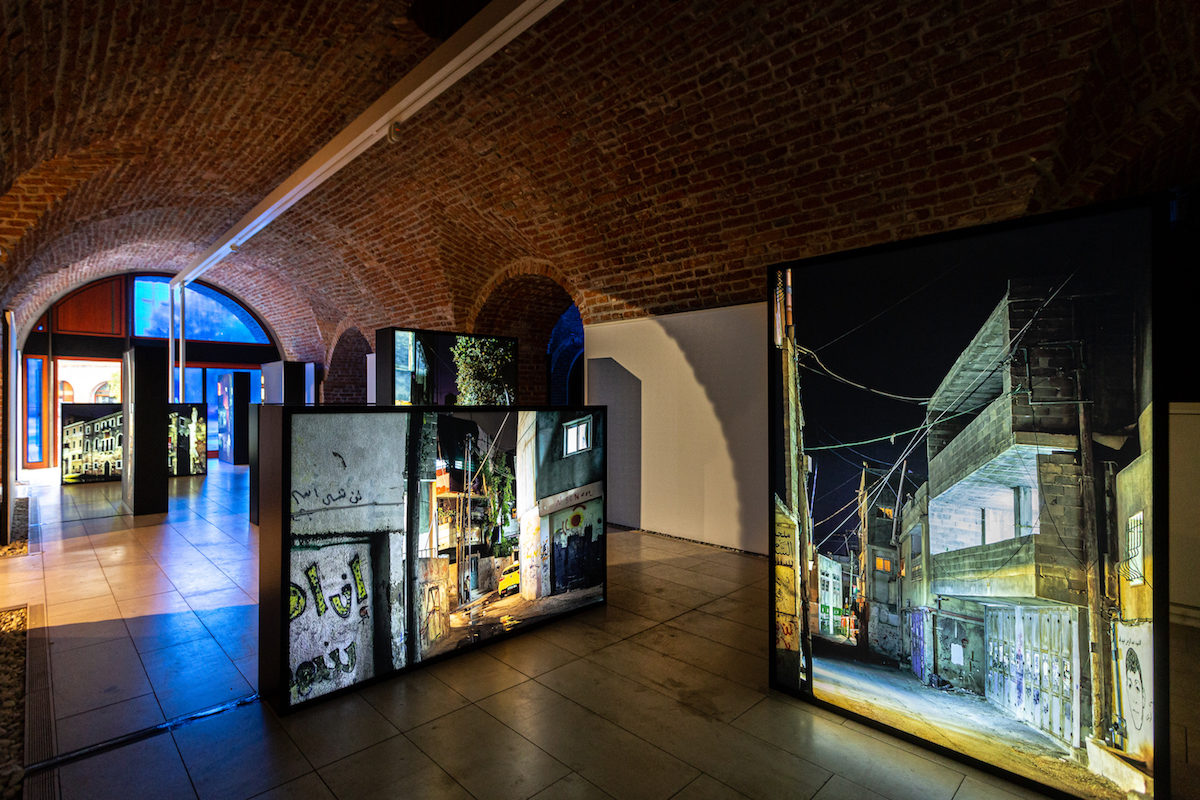 Decolonizing Architecture Art Residency / Sandi Hilal & Alessandro Petti, Permanent Temporariness, 2019, exhibition view Art Encounters Biennial 2019, Foto Adrian Câtu
