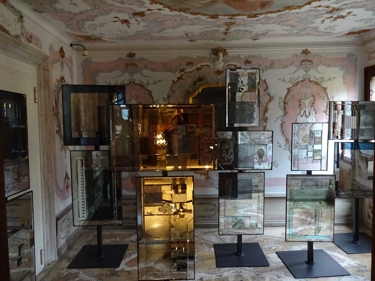 Leslie Ann Genninger, Fragments of Reflections. Venice Glass Week 2019 // SBV