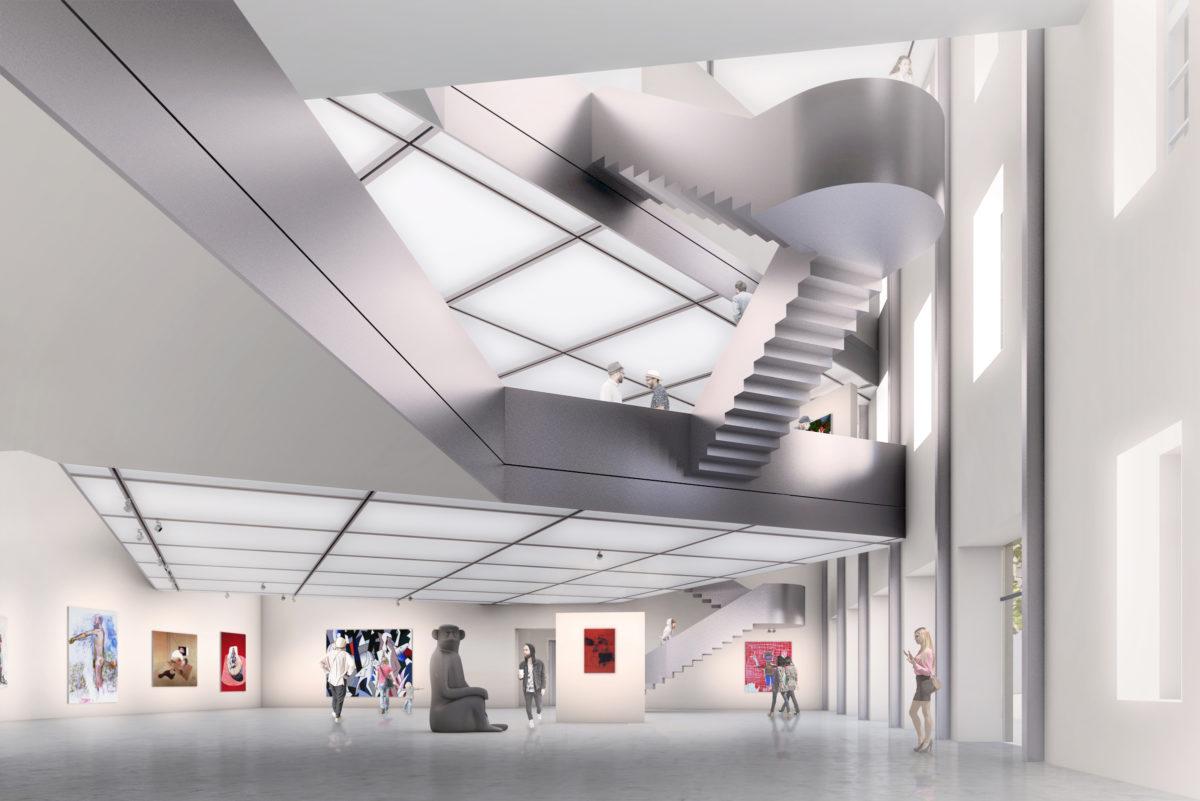 Entwurf the next ENTERprise für das Heidi Horten Museum, Wien