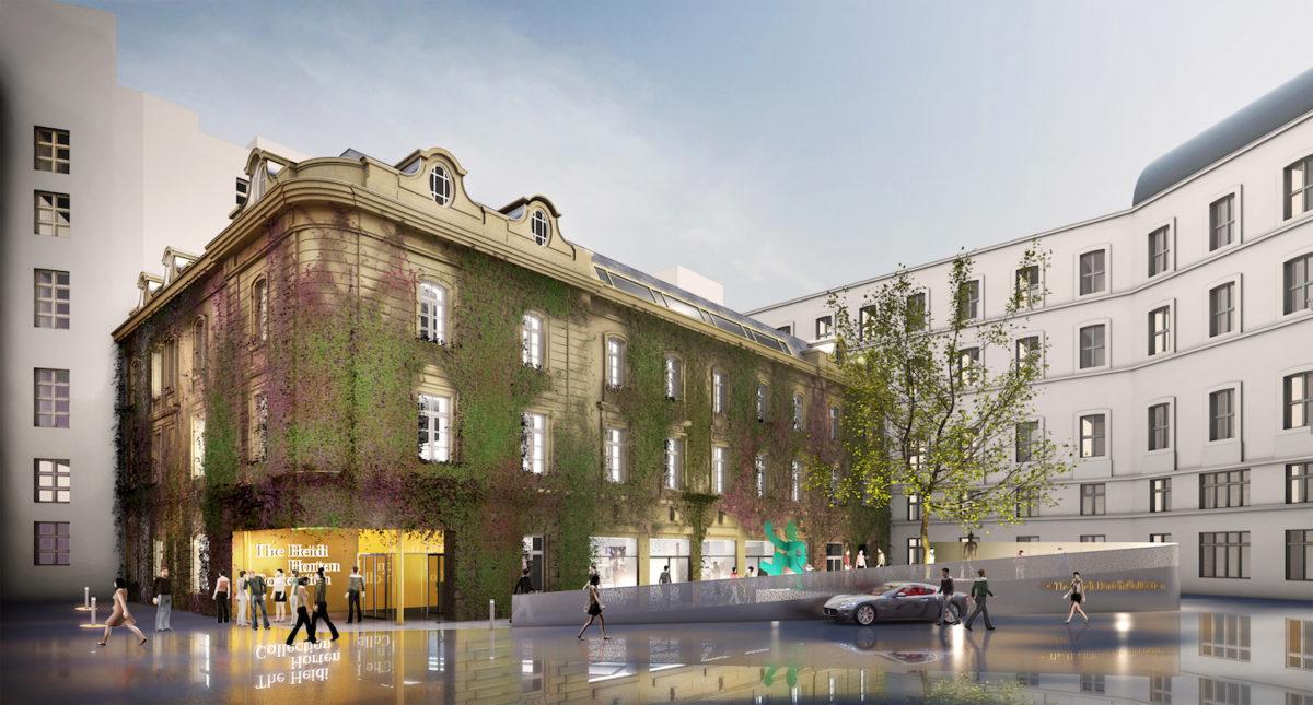 Entwurf vom Büro the next ENTERprise für das Heidi Horten Museum in Wien