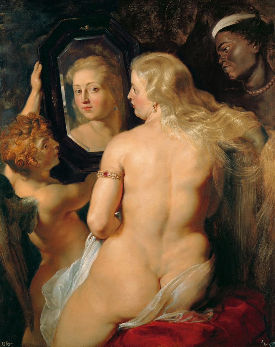 Peter Paul Rubens, Venus vor dem Spiegel, um 1614/15. Öl auf Holz © LIECHTENSTEIN. The Princely Collections, Vaduz–Vienna