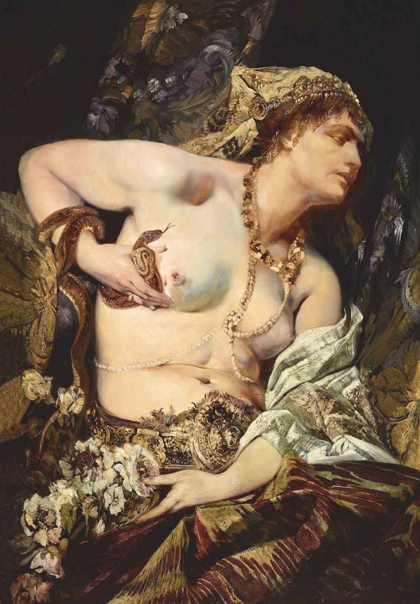 Hans Makart, Der Tod der Kleopatra, 1875, © LIECHTENSTEIN. The Princely Collections, Vaduz–Vienna