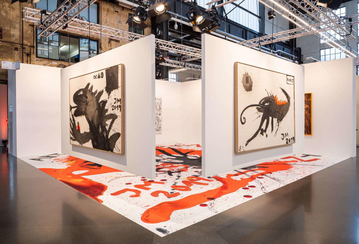 Art Düsseldorf 2019 Sies + Höke, Jonathan Meese © Sebastian Drüen