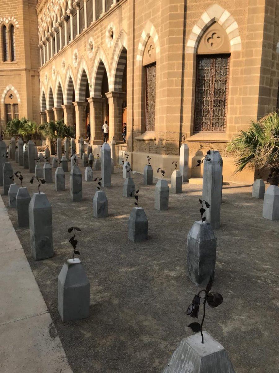 Adeela Suleman, The Killing Fields of Karachi, 2019