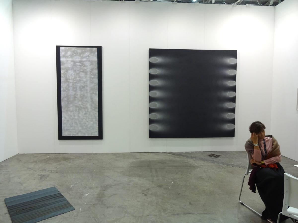Michael Venezia, Stand der Galerie Häusler // SBV