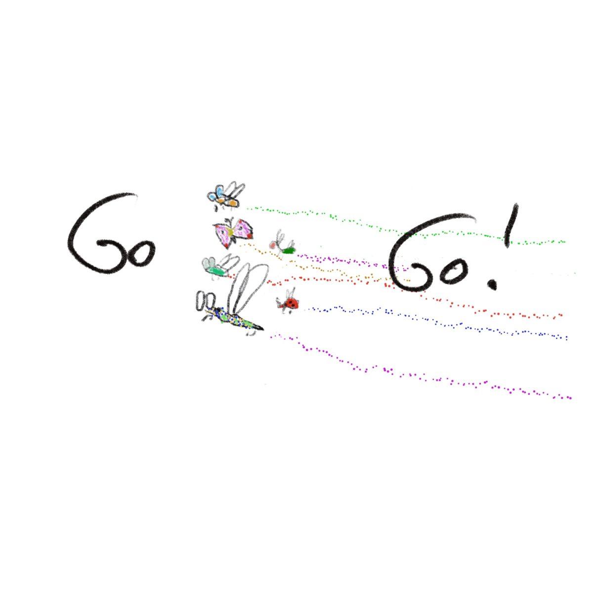 Logo GoBugsGo, Edgar Honetschläger