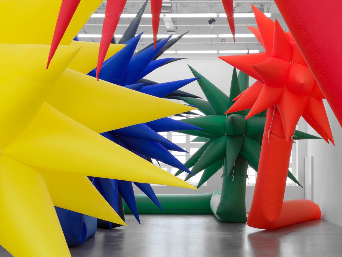 Otto Piene,Die Sonne kommt näher, Exhibition view Museum Haus Konstruktiv, 2020. Photo: Stefan Altenburger© 2020, ProLitteris, Zurich; Otto Piene Estate / Sprüth Magers