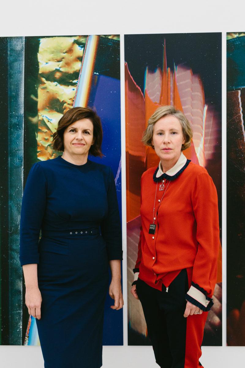 Cornelia Lamprechter (l), Karola Kraus (r), Foto Niko Havranek, Nov. 2019