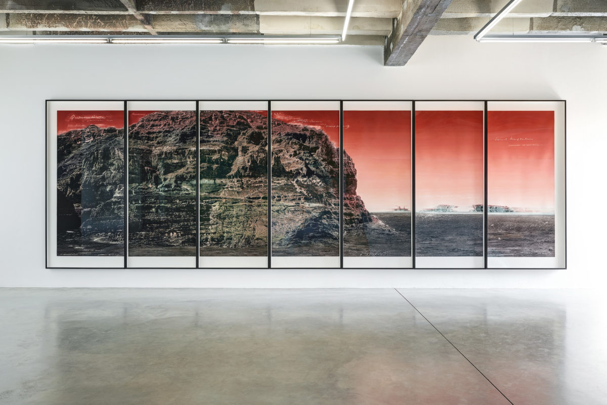 Tacita Dean, Quarantania, Niels Borch Jensen Gallery