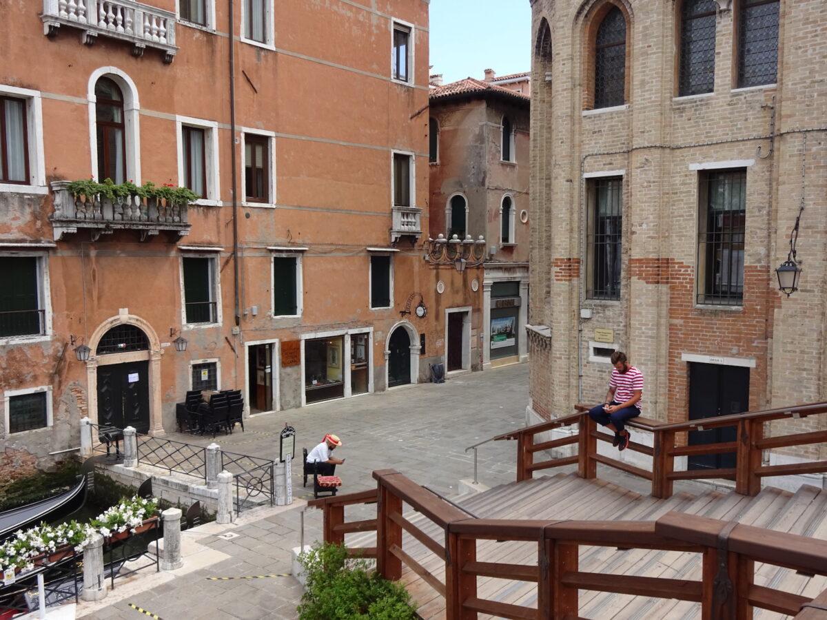 Venedig im Juni 2020 // Foto: SBV