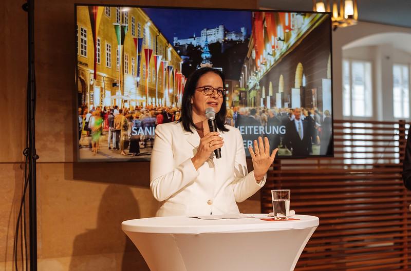 Staatssekretärin Andrea Mayer, Foto: BMKÖS
