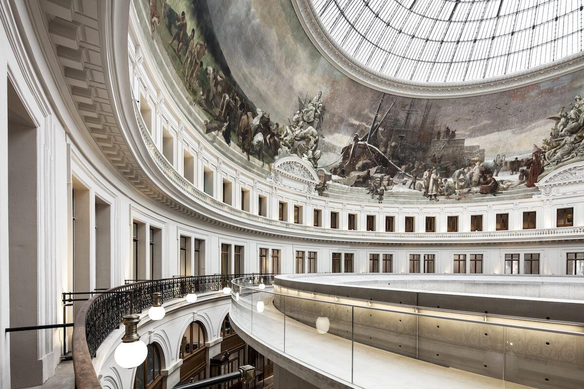 Bourse de Commerce — Pinault Collection © Tadao Ando Architect & Associates, Niney et Marca Architectes, Agence Pierre-Antoine Gatier. Photo Patrick Tourneboeuf