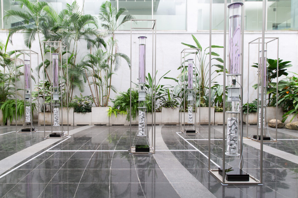 Chang Yung-Ta, scape.unseen_model-T, 2020, installation, dimensions variable. Courtesy of the Artist and Taipei Fine Arts Museum.
