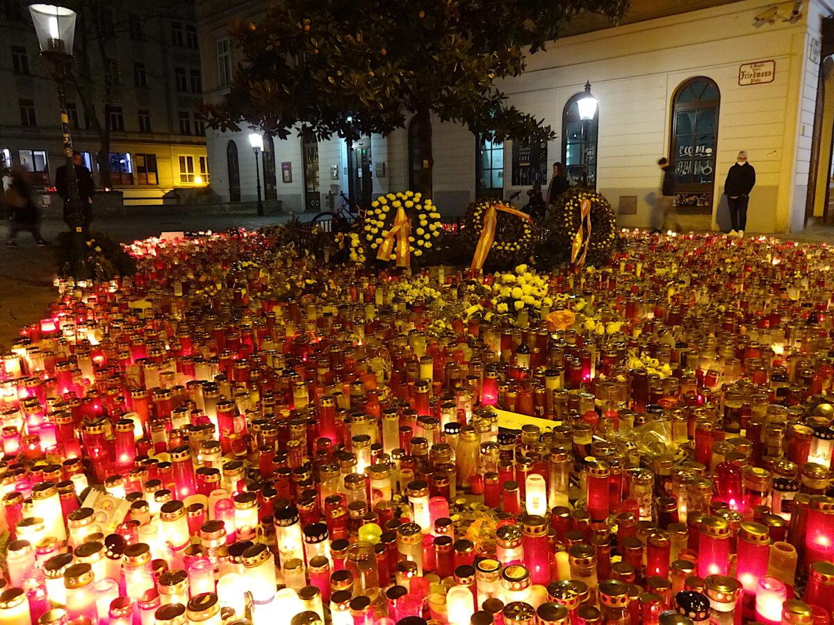 Wien eine Woche nach der Terrorattacke // SBV