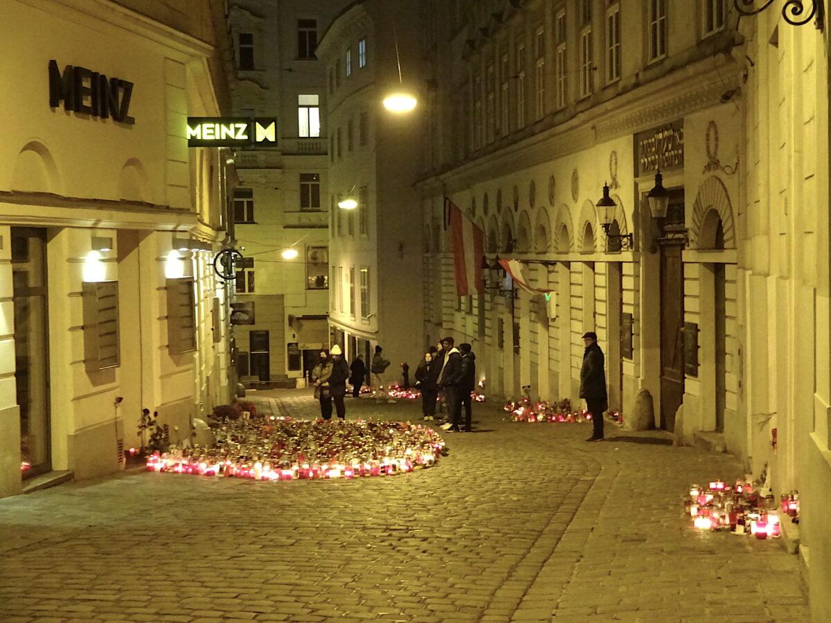 Wien eine Woche nach dem Terroranschlag // SBV