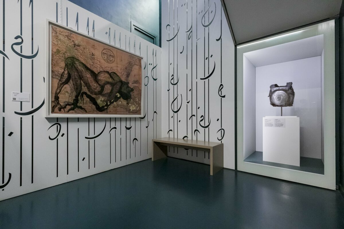 Zehra Dogan, Kurdistan 2, 2020, im MAO Museo d'Arte Orientale, Turin. Photo: Perottino – Piva / Artissima 2020, Prometeo Gallery Ida Pisani