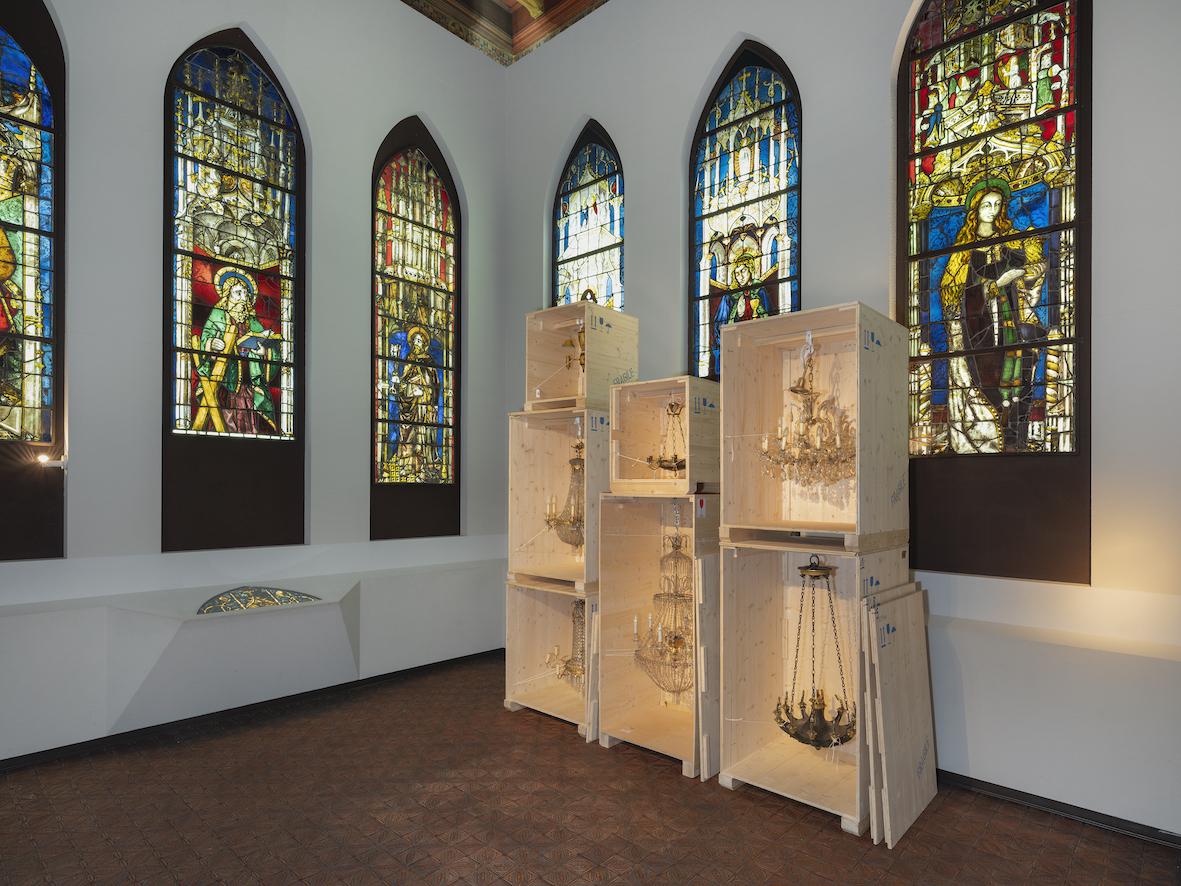 Jakob Lena Knebl for The Museum of Art & History, Geneva 2021. Foto: Julien Gremuad