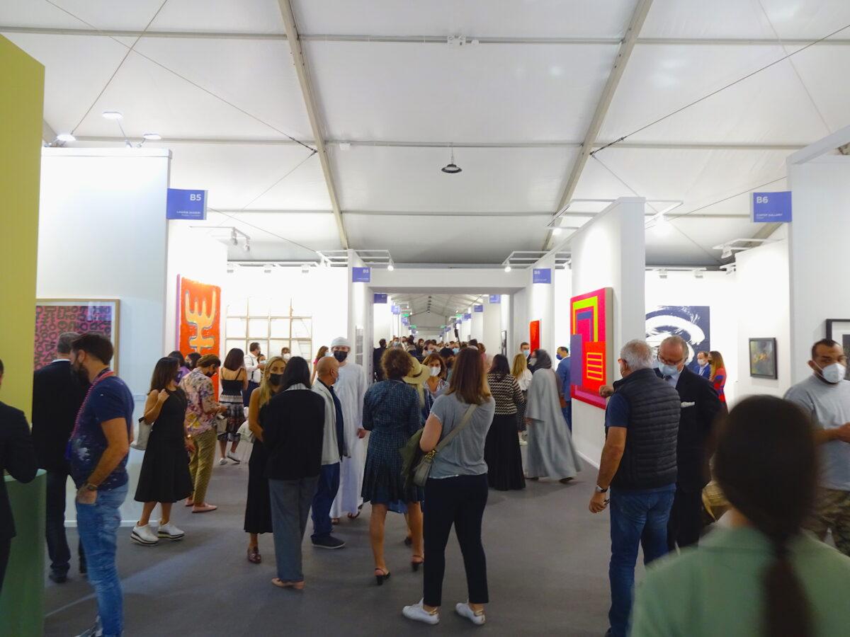 14. Art Dubai 2021, Foto: SBV