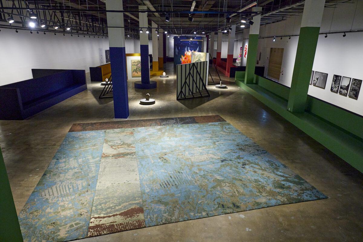 Minds Rising, Spirits Tuning, exhibition view 13th Gwangju Biennale, 2021, works by Kyungwon Moon and Gap-Chul Lee, photo: Sang tae Kim