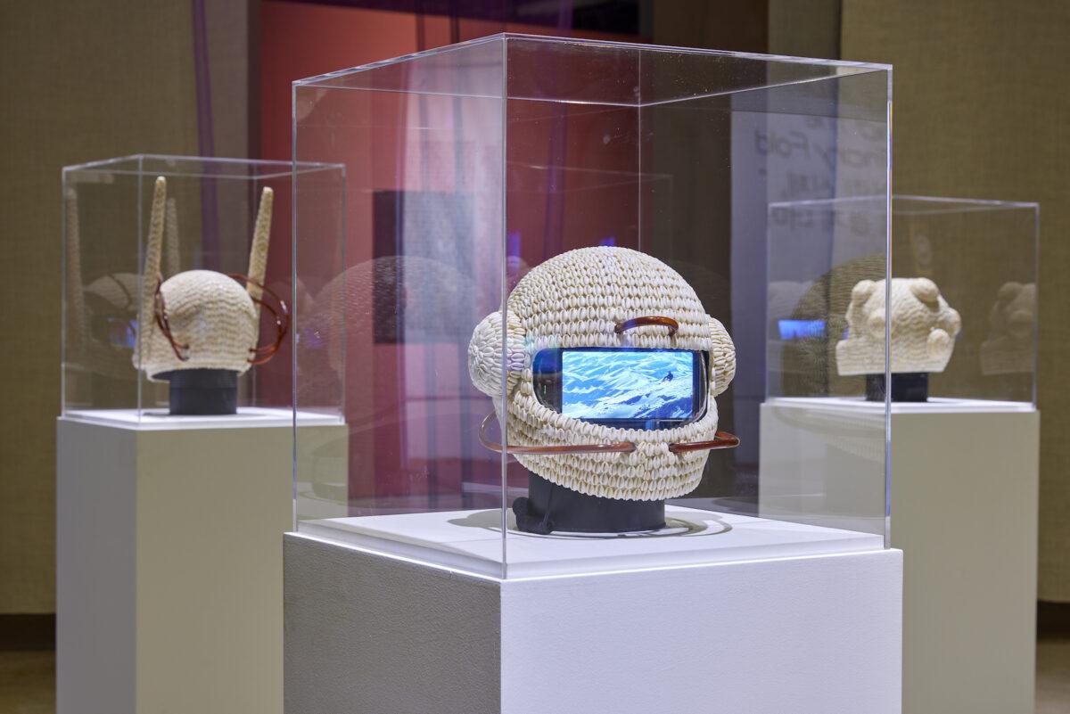 Emo de Medeiros, Vodunaut (Hyperdiver), 2021, exhibition view 13th Gwangju Biennale, 2021, photo: Sang tae Kim