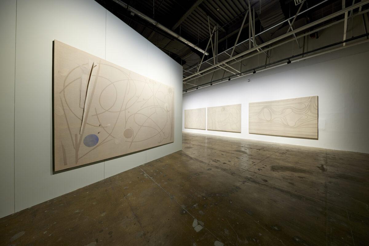 Minds Rising, Spirits Tuning, exhibition view 13th Gwangju Biennale, 2021, works by Alexandra Sukhareva, photo: Sang tae Kim