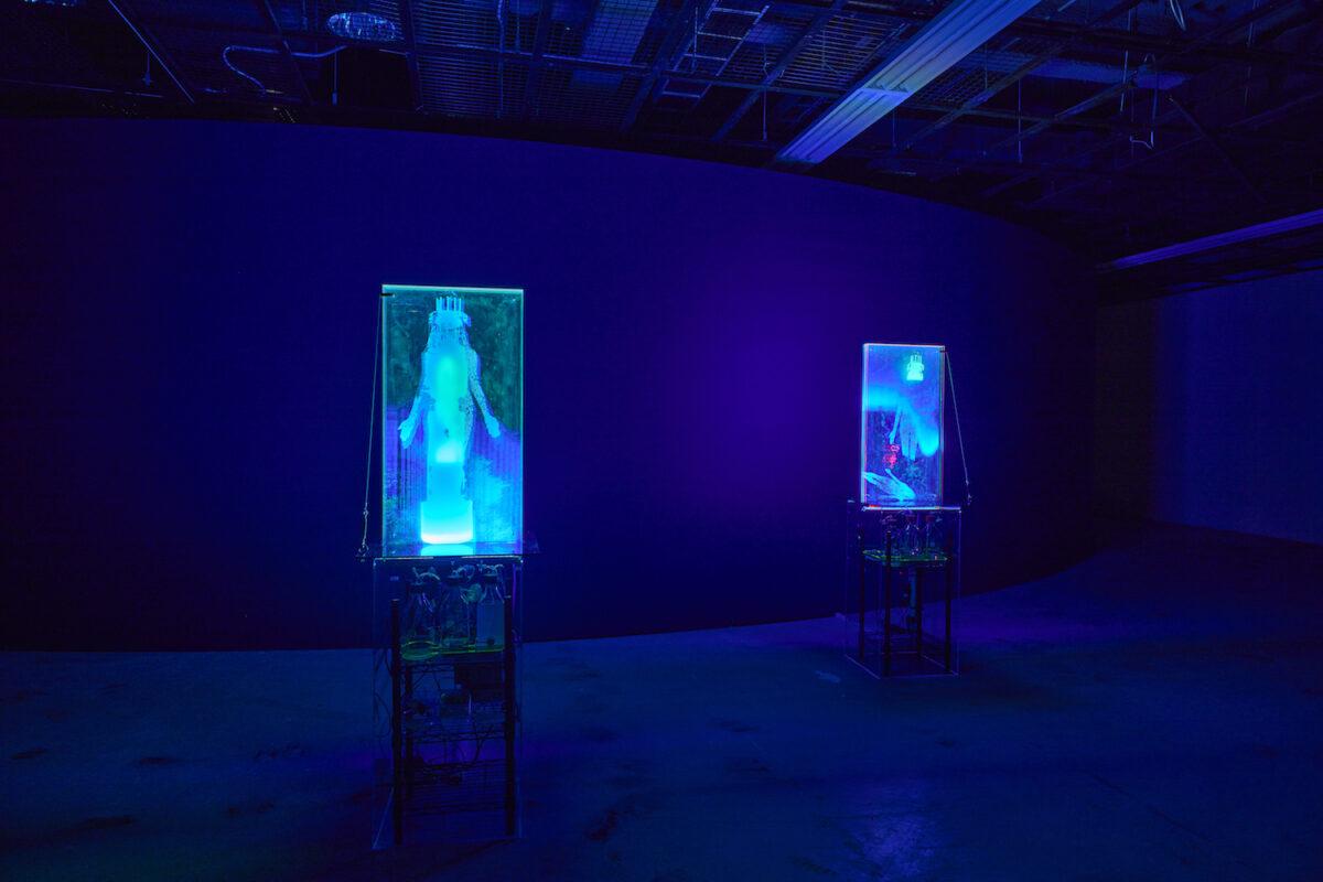 Lynn Hershman Leeson, Twisted Gravity, 2021, exhibition view 13th Gwangju Biennale, 2021, photo: Sang tae Kim