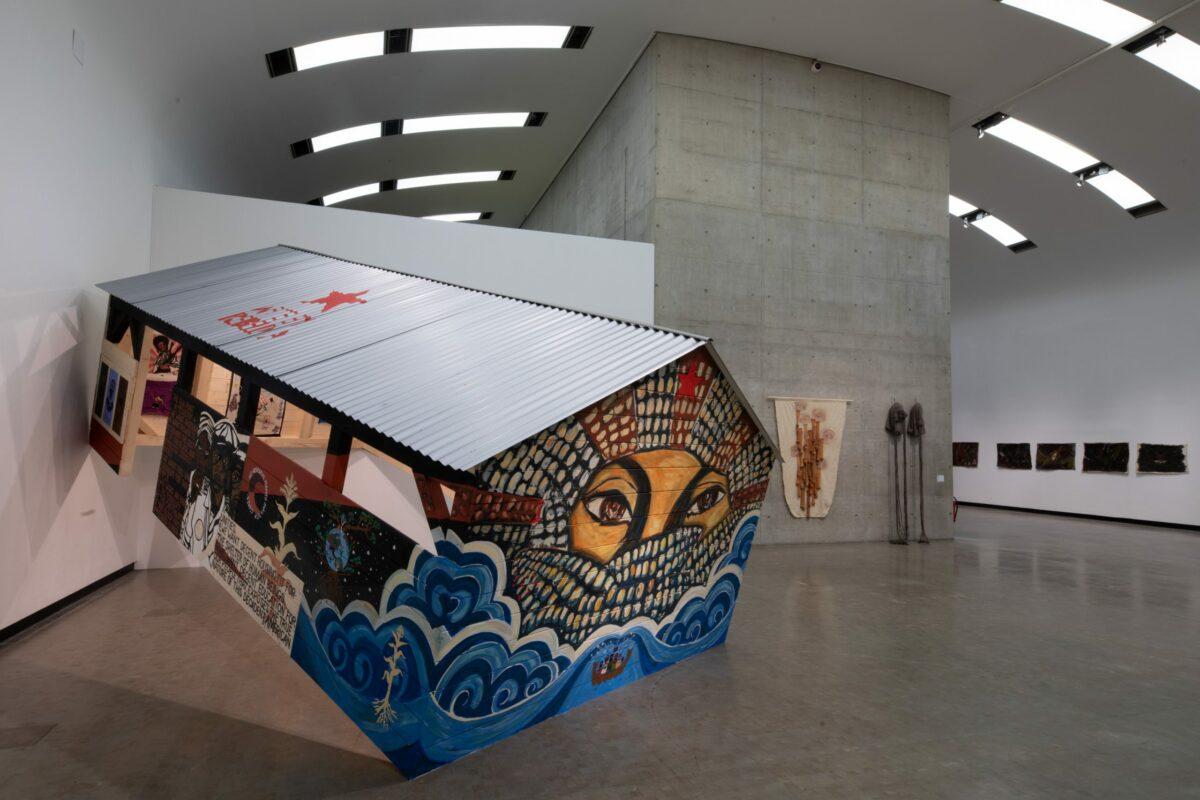 Ausstellungsansicht: And if I devoted my life to one of its feathers, Kunsthalle Wien 2021, Foto: © eSeL.at - Lorenz Seidler