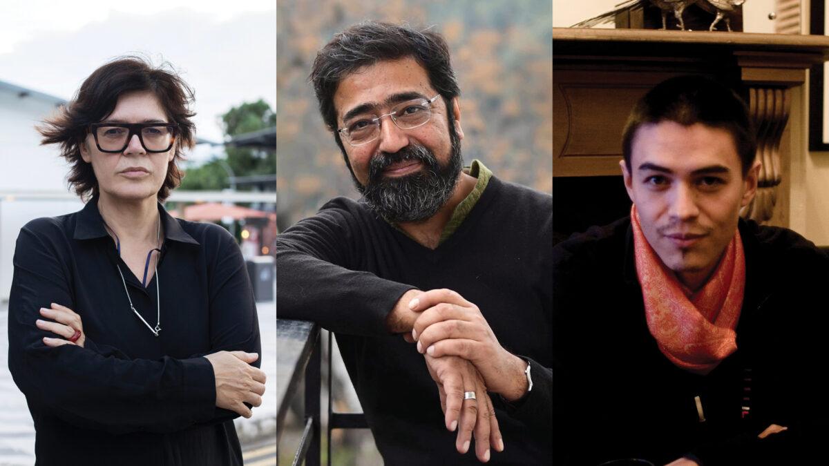 17. Istanbul Biennale, Ute Meta-Bauer, David Teh, Amar Kanwar. courtesy Istanbul Biennial