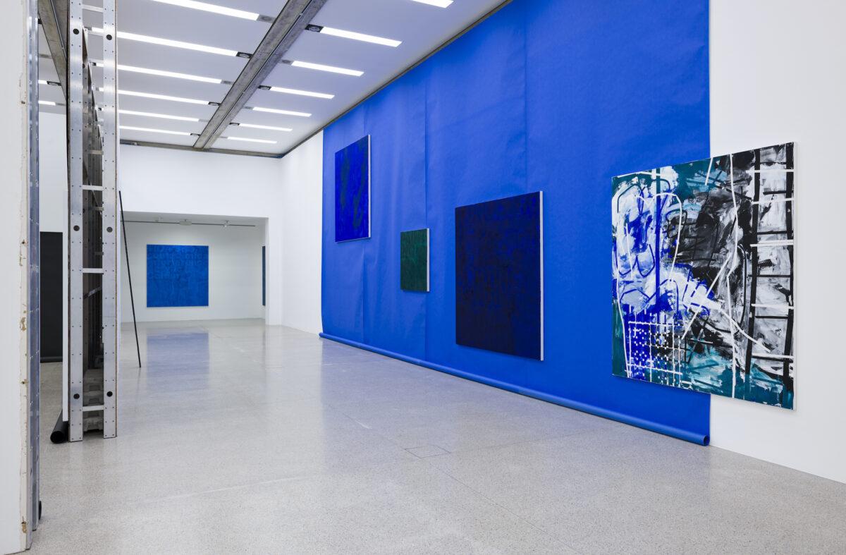 Ausstellungsansicht Heimo Zobernig, 2021, MUMOK Wien. Foto: Georg Petermichl, Courtesy MUMOK