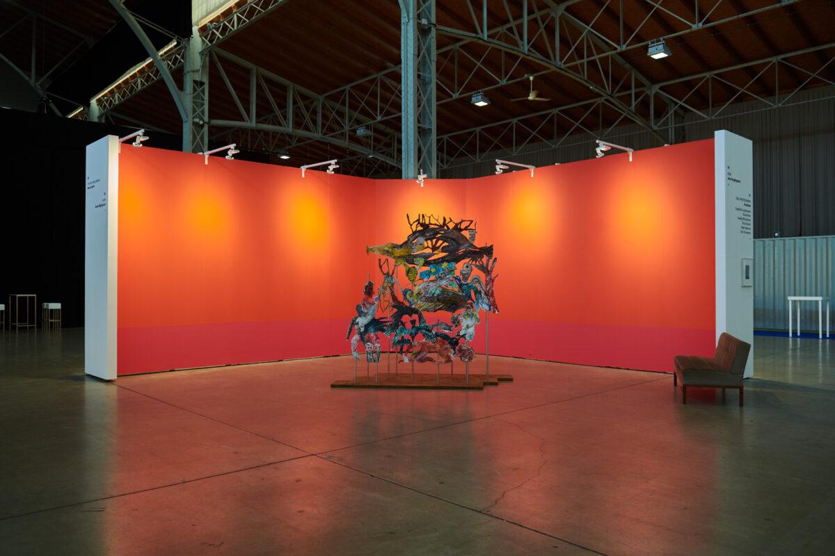 Spark Art Fair Vienna 2021, Stand von KOW mit Anna